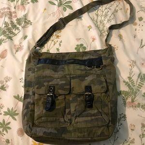 Roxy cameo crossbody bag